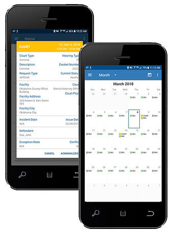 Subpoena Mobile App