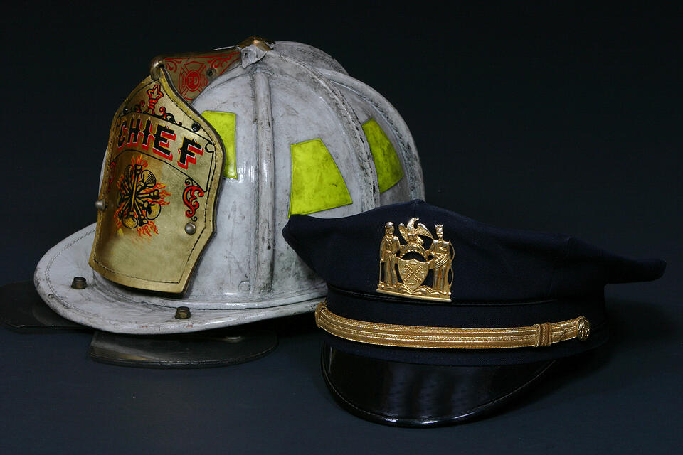 fire-chief-and-police-hat